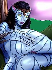Avatar aliens show us how they enjoy sex